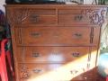 Реставрирани орехови скринове,гардероб и шкафче