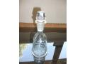 Кристално шише за ликьор,вода;кристална вазичка за яйце