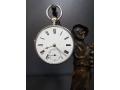 Сребърен джобен часовник