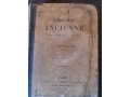 Ценна стара френска книга , издадена през 1885г.