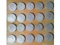 Продавам 20 монети по 50 лева от 1930, 100 грама е чистото сребро