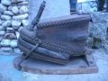 Старинен занаятчиѝски ковашки мях
